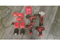 Snap on 18volt tools