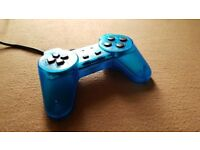 Playstation 1 Controller - Blue