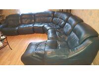 Corner Sofa turquoise