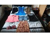 Ladies clothing bundle, size 8.