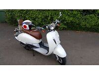 *Reduced* 125cc Retro Scooter - Reliable, cool to look at, fun to ride, cheap to run