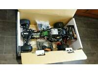 Rc hpi baja 5b dbox 2.0 like new!!
