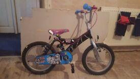Girls 12 inch monster high bike