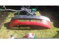 Toyota yaris front bumper RED