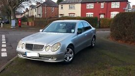 2004 Mercedes E220 2.2 CDI AUTO-Step Avantgarde saloon 4DR SILVER FULL LEATHER