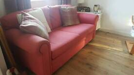 PRICE DROP Pair of Laura Ashley 3 seater sofas