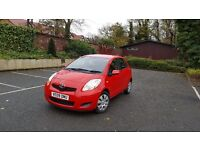 MINT ! 42k 2009 YARIS 5door £30 ROAD TAX CHILLI RED WHY AYGO MICRA 107 C1 MAZDA2 CIVIC POLO CORSA