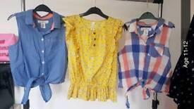 Girls 19 item bundle age 11-12. Please see pics