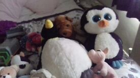Soft toys boot sale items