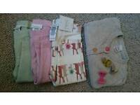 Next bundle trousers (3) and cardigan 3-6 montha