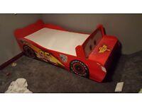 Disney cars 'Lightning McQueen' toddler bed