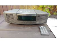 BOSE Wave Radio / CD Player with additional Aux base - Excellent Condition