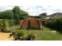 Vintage/Retro Aquatite Tent made by Rands and Jeckell in Ipswich