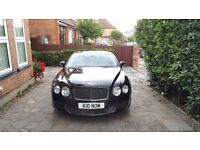 BENTLEY CONTINENTAL GT SPEED BLACK 2008