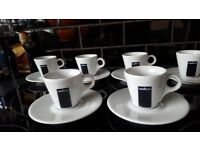 As new...lavazza cups and saucers