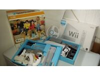 FOR SALE NINTENDO WII & ALL ACCESSORIES