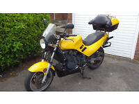 beautiful triumph trophy 900 perfect commuter/tourer with luggage