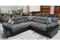 Brand new luxury jumbo 5 seater corner sofas can deliver 07808222995