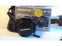 Olympus E410 digital camera - boxed