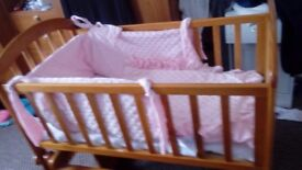 Baby cot for sale