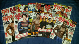32 Muscle And Fitness Magazines
