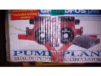 Grundfos 15 50 pump plan dual circulator