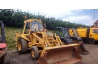 CASE 580G BACK-HOE +4in1 BUCKET and 3 BACK-HOE BUCKETS in perfect working order