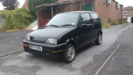 1997 Fiat Cinquecento Sporting black - Will be scrapped 10 September