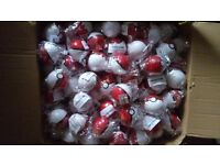 194 Pokemon red pokeballs with Pikachu Figures inside BUNDLE 194 BALLS kids toys collectables gifts