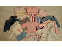 Baby girl bundle 6 to 9 month