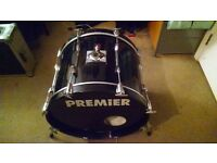 Premier bass drum