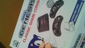 Sega genesis with games for trade for nes