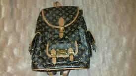 Louis Vuitton Style Backpack Handbag