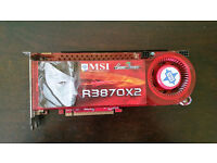 MSI R3870x2 Graphics card -2GPUs Radeon HD