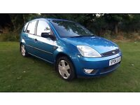 2004 Ford Fiesta 1.4 Blue 5 Door Hathback Low Mileage Ideal First Car or Cheap Run Around