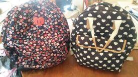 2 school bags