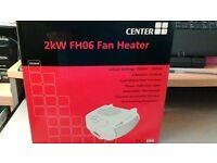 Fan Heater x 2 Brand new 2kw fh06 fan heater