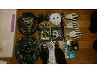 Halloween party decorations bundle. Large items. new and used