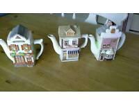 Ornate teapots