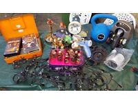 Miscellaneous saleable items for car boot sale or ebay