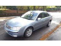 Diesel 2005 Ford Mondeo GHIA TDCI 130 6 Speed 98000 Miles Only.