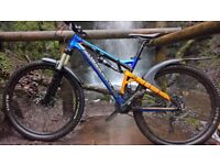 Saracen Kili Flyer 121 Full Suspension Mountain Bike