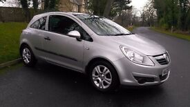 2008 VAUXHALL CORSA 1.2 16V BREEZE 3 DOOR, 1 OWNER, FULL HISTORY
