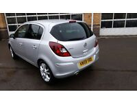 Vauxhall corsa sxi silver 5 door 62k miles great condition