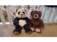 2 Build a Bear teddies