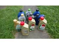 Car engine oil, 10x1 litre bottles