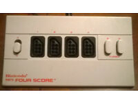 REDUCED Nintendo Four Score - 4 Player adapter For NES - Retro Gaming