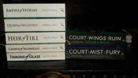 Sarah J Maas Fantasy Books throne of glass