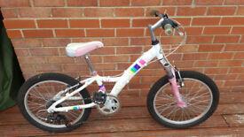 Claud Butler girls bike