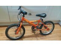 Boys Raleigh bike 16 inch wheels